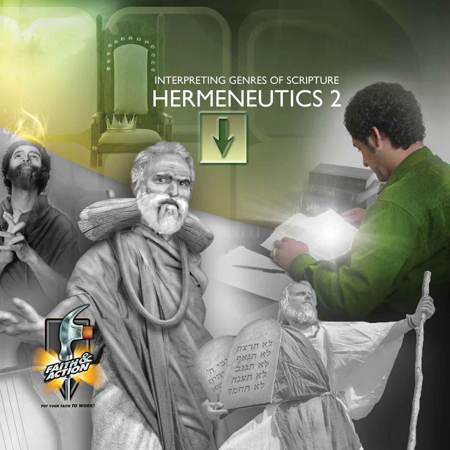 Hermeneutics 2—Interpreting Genres of Scripture - eVisuals Zipped Download - 4421-23EX