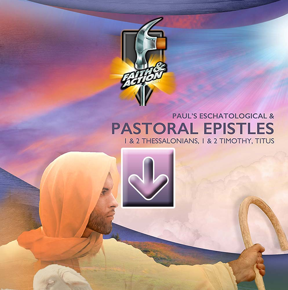 Paul's Eschatological & Pastoral Epistles - eVisuals Zipped Download - 4411-31EX