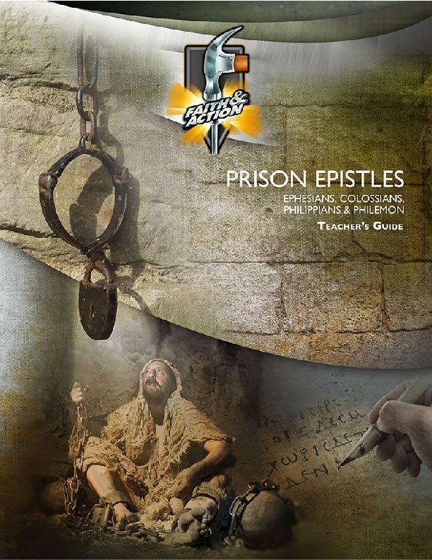 Prison Epistles: Ephesians, Philippians, Colossians & Philemon - Teachers Guide