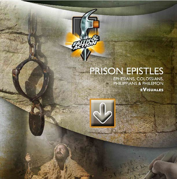 Prison Epistles: Ephesians, Philippians, Colossians & Philemon - eVisuals zipped download - 4411-25EX