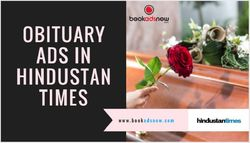 How to Book Obituary Ads in Hindustan Times Newspaper