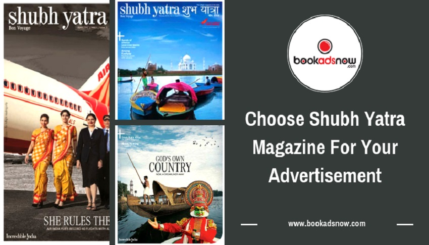 Shubh Yatra magazine advertisement
