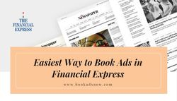 Easiest Way to Book Ads in Financial Express