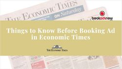 Things to Know Before Booking Ad in Economic Times