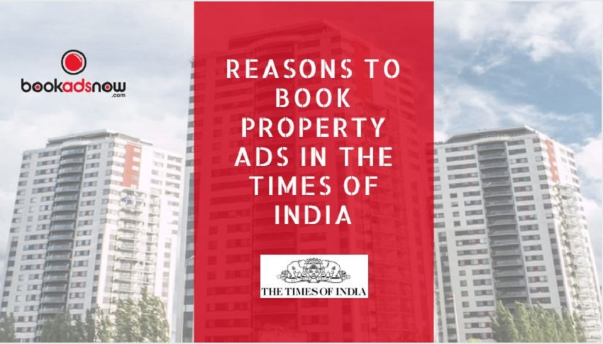 times of india property ads
