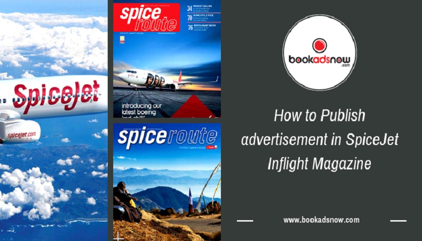 Spicejet Inflight magazine advertising