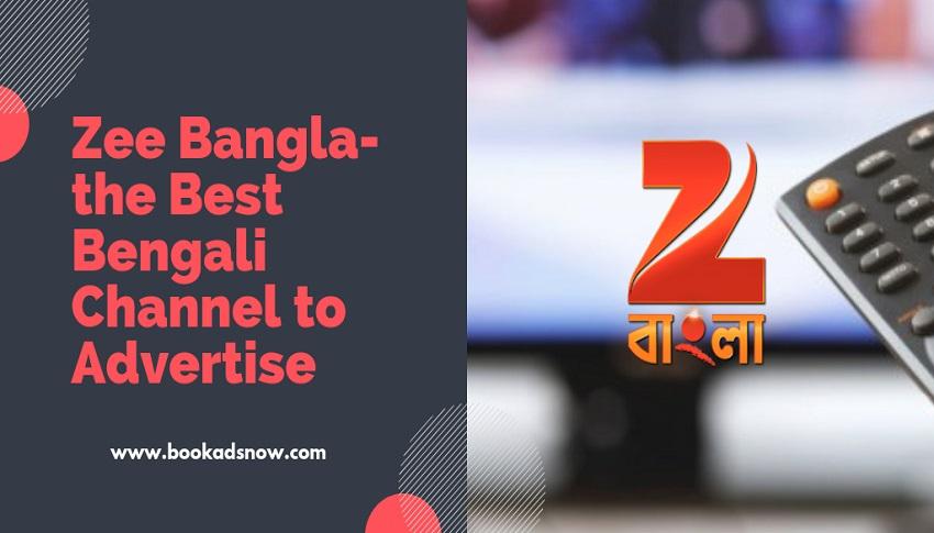 zee bangla advertisement rates