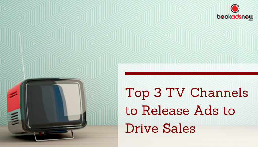 TV channels to release ads