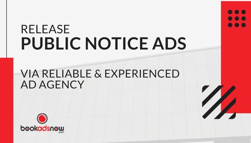 Public Notice Ads