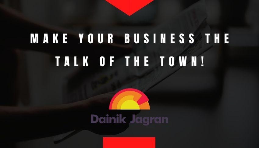 Dainik Jagran advertisement