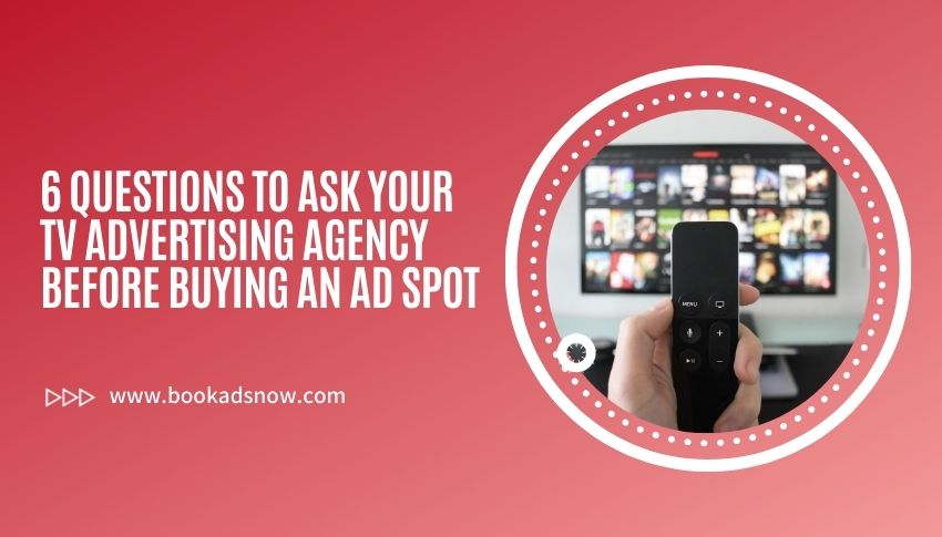 Tv advertising agency