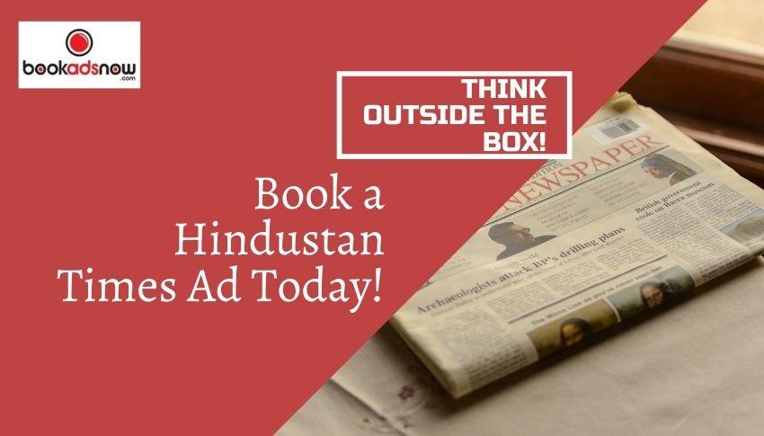 Hindustan Times ad