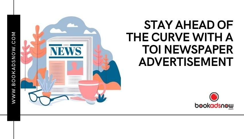 TOI Newspaper Advertisement