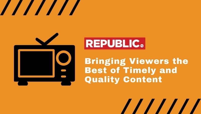 Republic TV advertisement