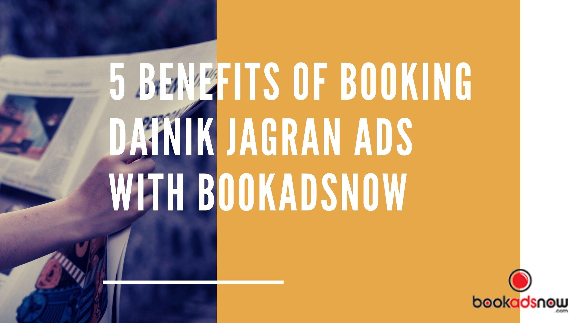 Dainik Jagran with Bookads