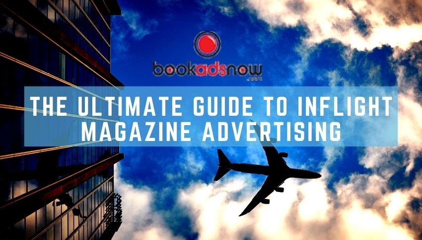 Inflight advertising guide Bookadsnow