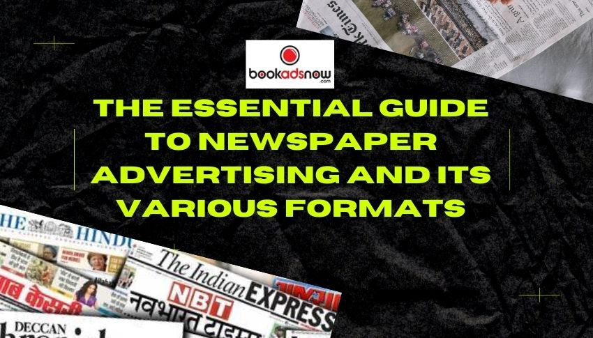 Guide to Newspaper Advertising
