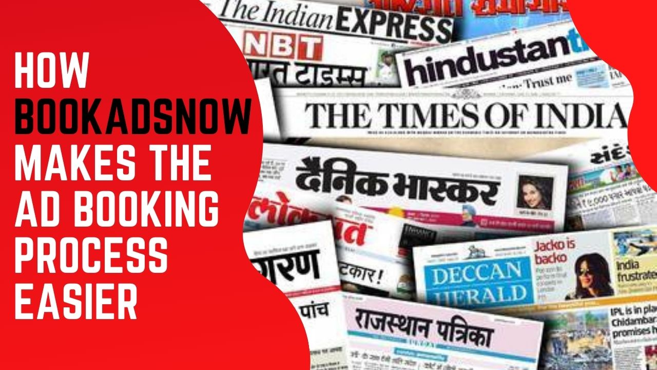 BOOKADSNOW newspaper ads booking