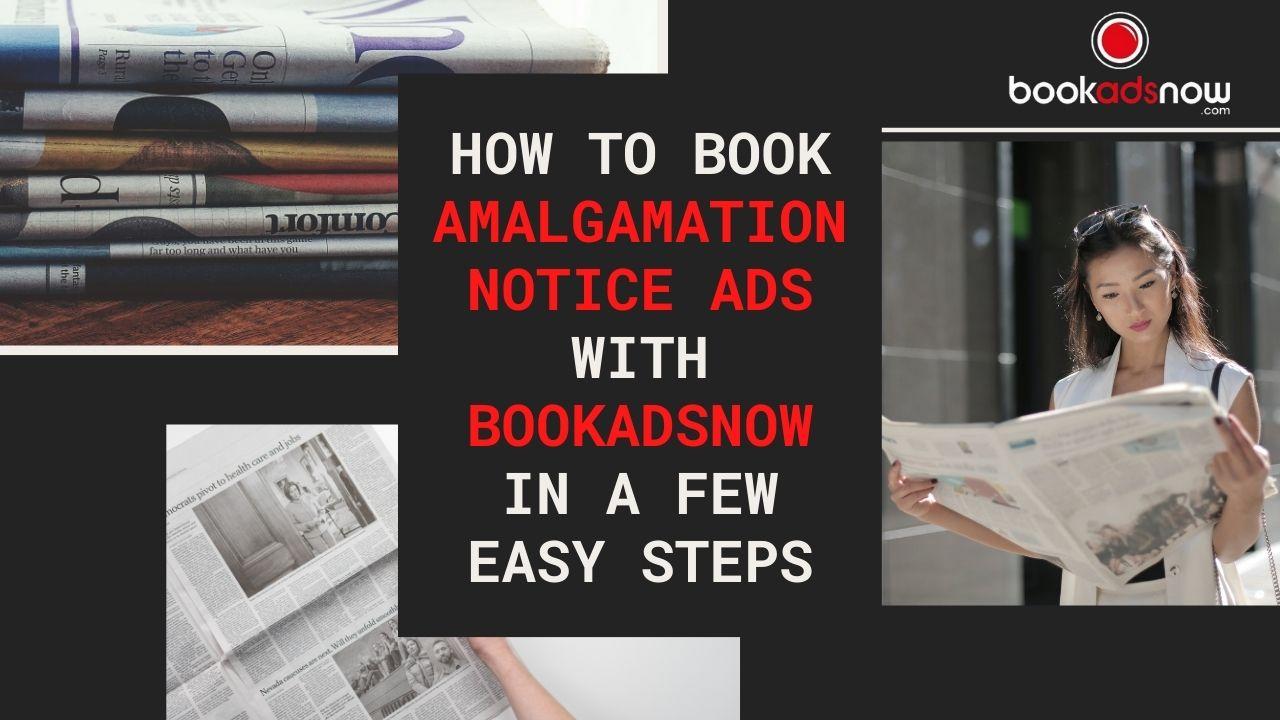 Amalgamation notice ad