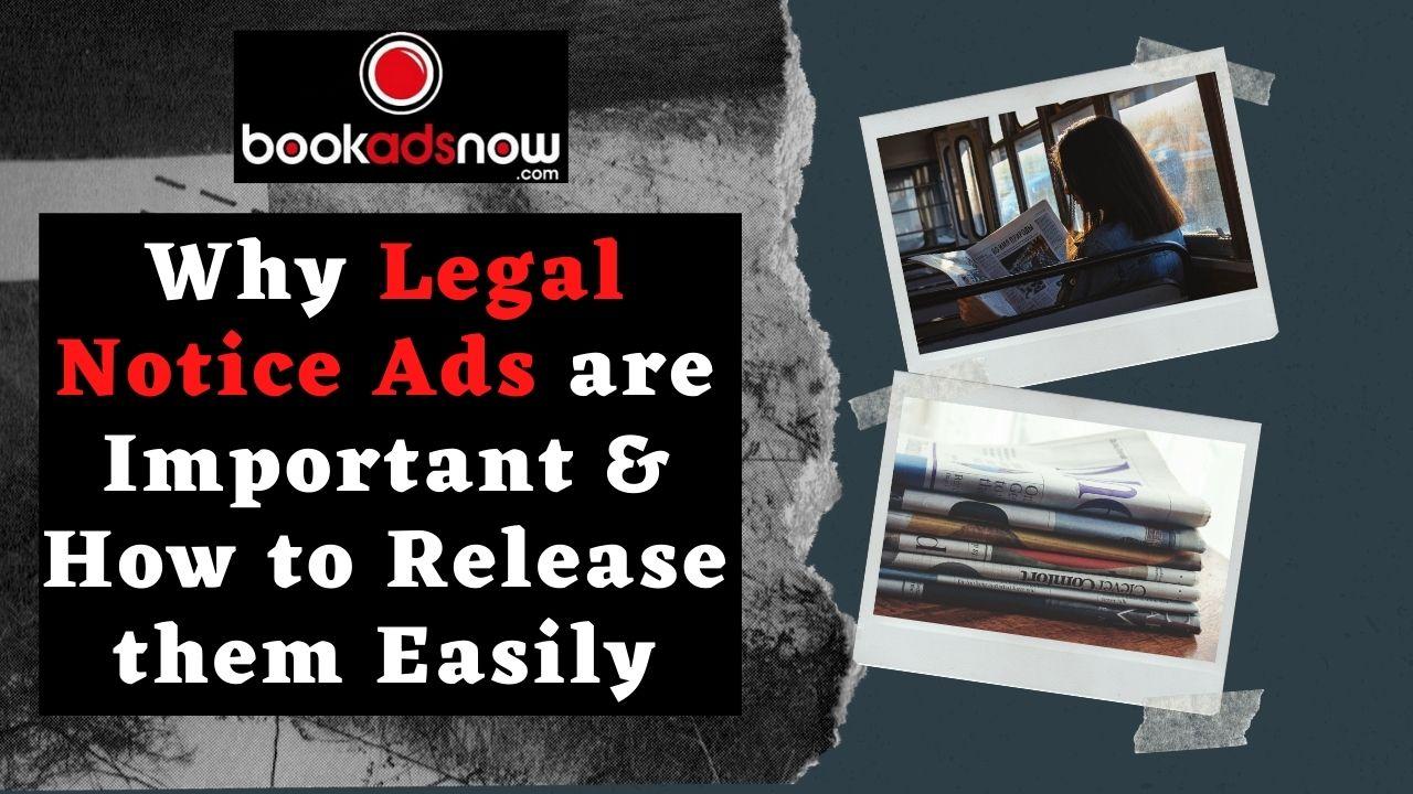 Legal notice ads
