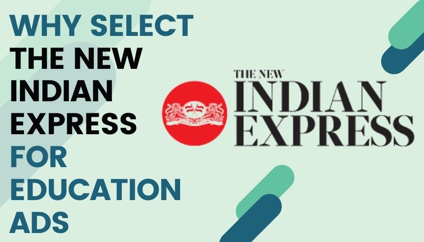 The New Indian Express advertisement
