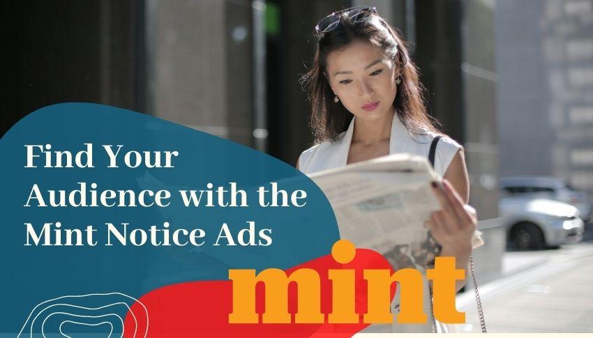 Mint Notice Ads