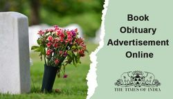 How To Book An Obituary Ad In Times Of India Newspaper?