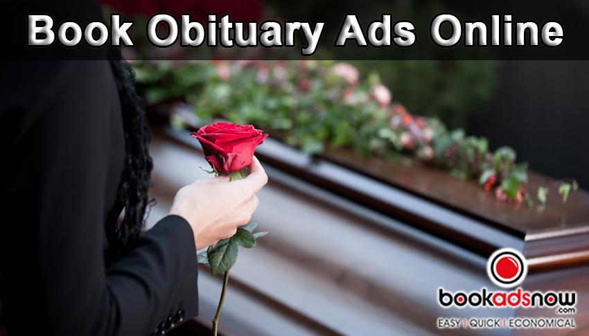 times of India Obituary Ads