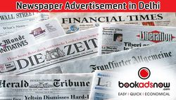 Benefits of Giving Newspaper Advertisement in Local Newspapers of Delhi