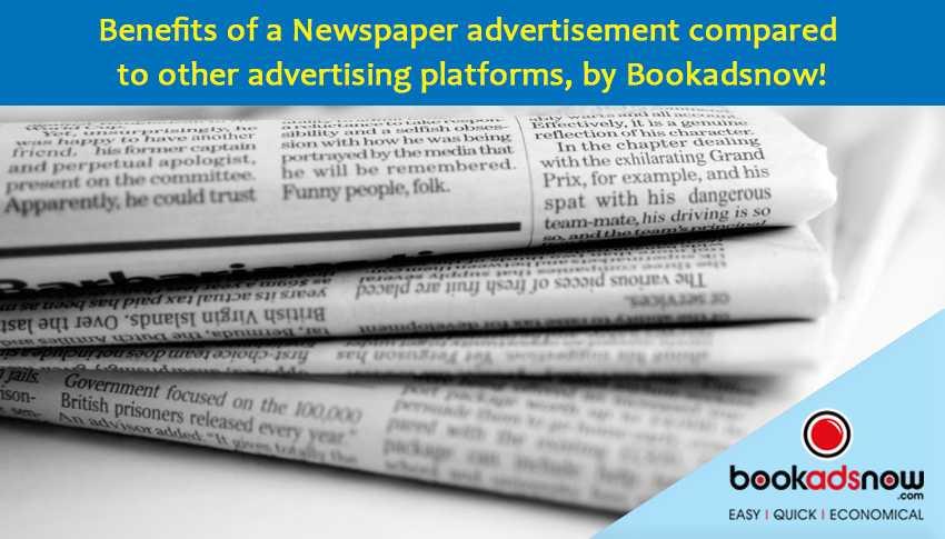 paper advertisement