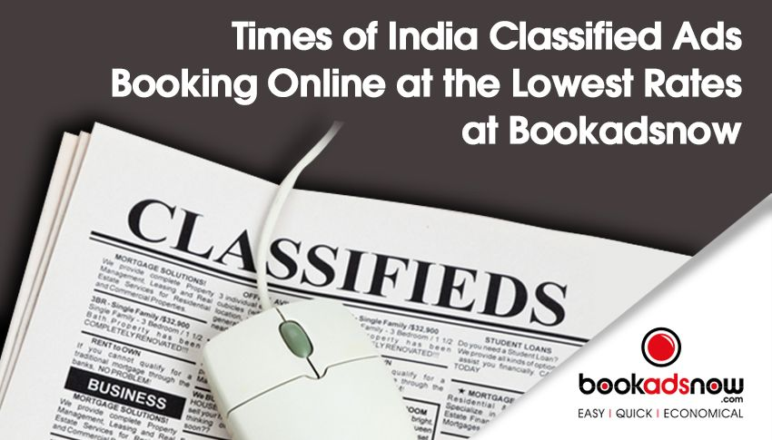 times of india classifieds