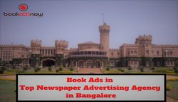 Book Advertisement in Top Newspaper Advertising Agency in Bangalore