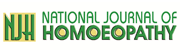 National Journal Of Homeopathy Advertisement