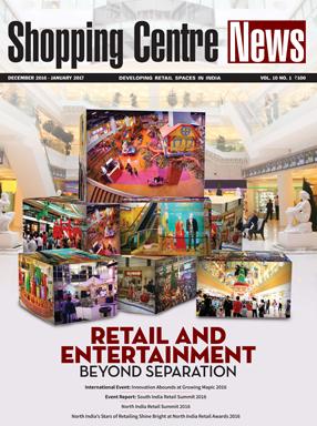 Shopping Centre News Advertisement