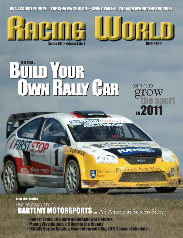 Racing World Advertisement