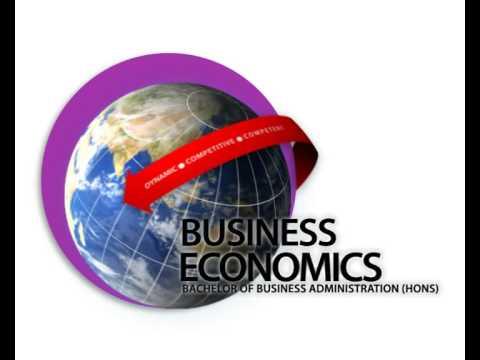 Business Economics Advertisement