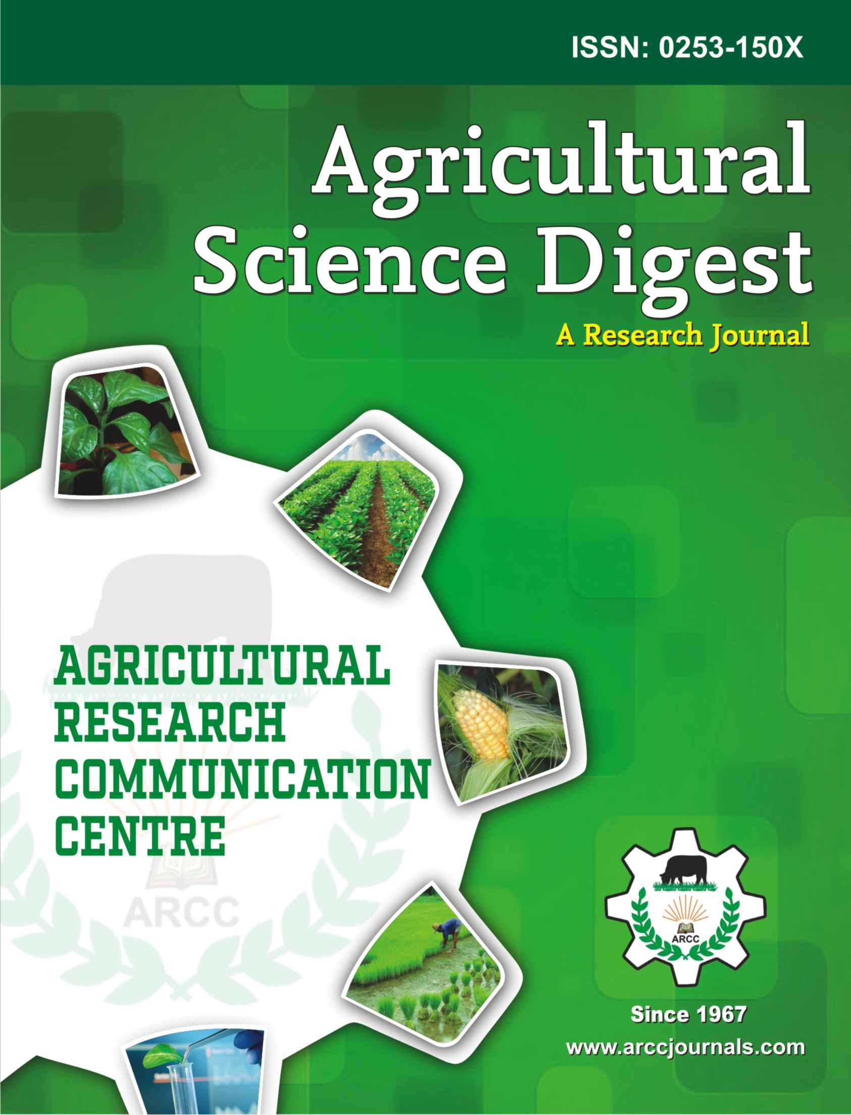 Agricultural Science Digest Advertisement