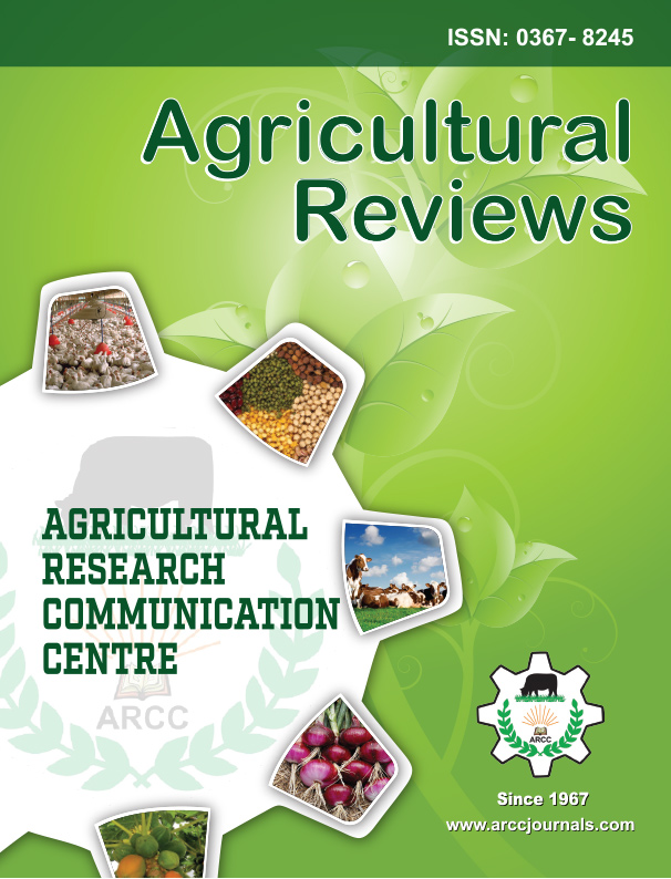 Agricultural Reviews Journal Advertisement