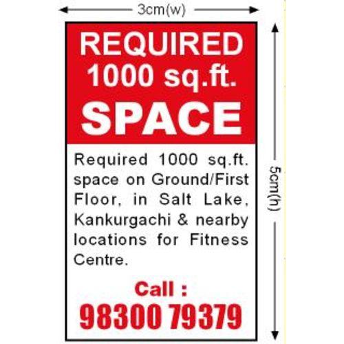 property advertisement in newspaper