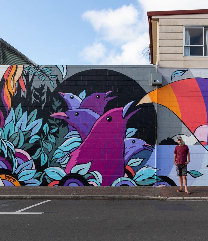 Artwork by Pauly in NZ