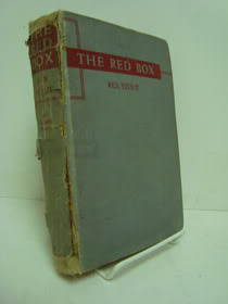 Red Box: A Nero Wolfe Mystery, Stout, Rex