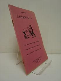 Americana -- Catalog 529, Argosy Book Stores, Inc.