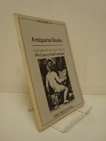 Antiquarian Books, Together with a Collection of 19th Century Trade Catalogues (Catalogue 54), Sims, Reed & Fogg Ltd.