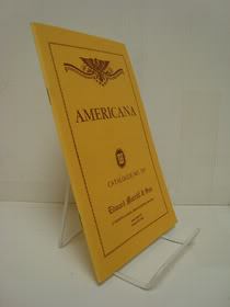 Americana, Catalogue No. 335, Edward Morrill & Son