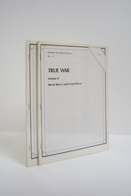 True War Volumes I & II: World Wars I and II and Korea (Weapons and Warfare Special Nos. 12 & 13), Various Authors