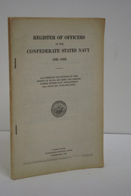 Register of Officers of the Confederate States Navy, 1861-1865, as Compiled and Revised by the Office of Naval Records and Library, United States Navy Department, 1931, from All Available Data, Office of Naval Records; Knox, D.W.