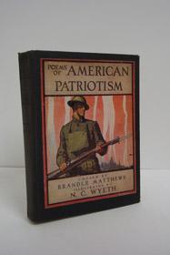 Poems of American Patriotism, Matthews, Brander