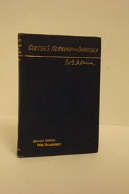 Goethe's Herman und Dorothea, with Introduction, Notes and Vocabulary (German Translation for English Learners), Adams, W.A.; Goethe, Johann Wolfgang von