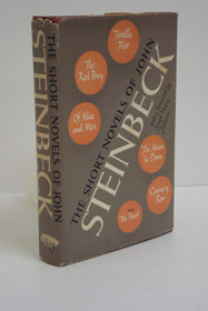 The Short Novels of John Steinbeck: Tortilla Flat; The Red Pony; Of Mice and Men; The Moon is Down; Cannery Row; The Pearl, Steinbeck, John; Jackson, Joseph Henry (Introduction)