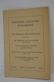 Genesee Country Scrapbook (Volume III, Number 2 - Winter 1953), Montague; Martha; Thomas, W. Stephen; Coates, Hilda A.; Merrill, Arch